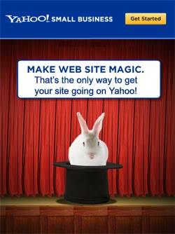 yahoo hosting magic