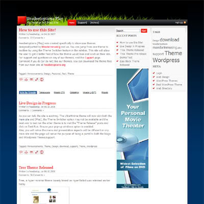 New WordPress Theme eMagazine