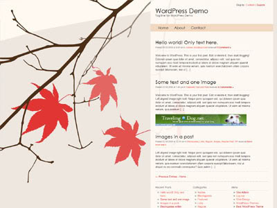 New WordPress Theme Gaia
